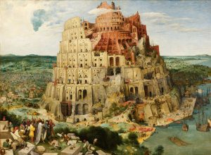 The Tower of Babel by Peter Brueghel