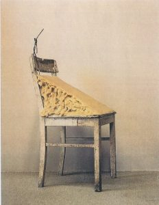 "Joseph Beuy's ""Fat Chair"""