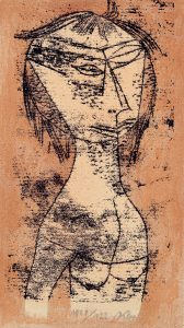 "Paul Klee. ""The Saint of Inner Light."""