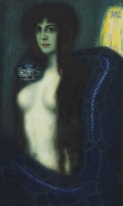 "Franz von Stuck, ""The Sin"""