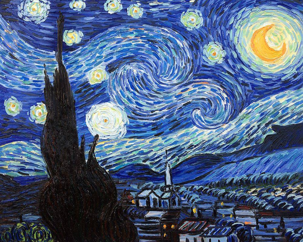 the style of music in vincent van goghs starry night